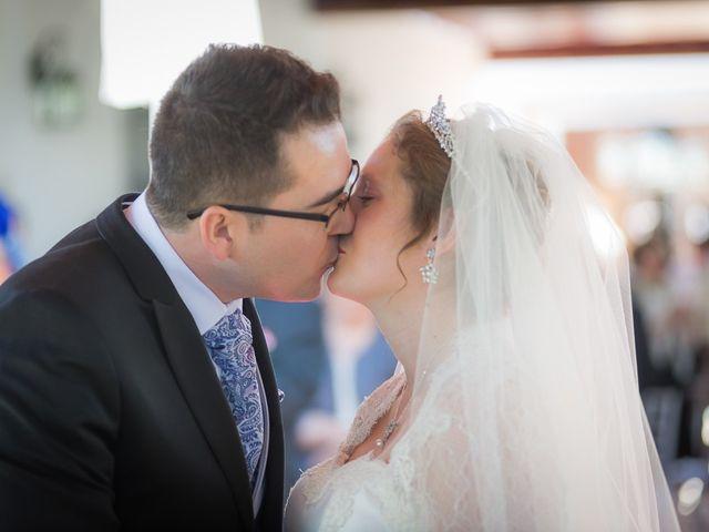 La boda de Elizabeth y Enrique