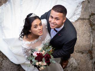 La boda de Elana y André