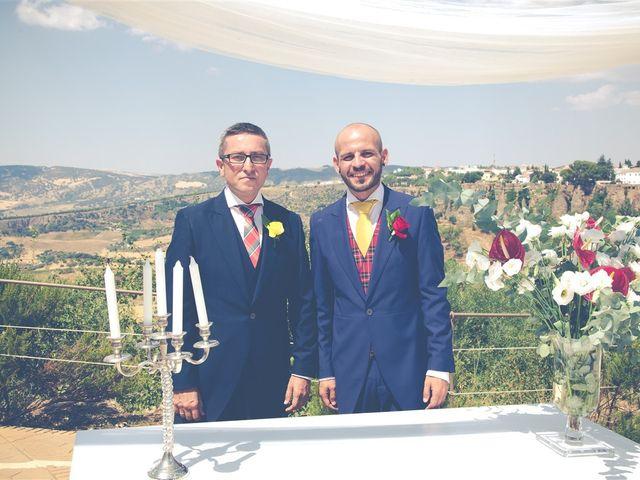 La boda de Cristóbal y José Antonio