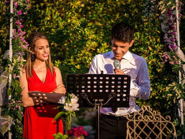 La boda de David y Silvia en Torrelodones, Madrid 50