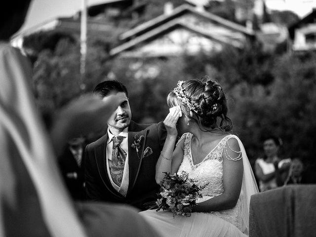 La boda de David y Silvia en Torrelodones, Madrid 55