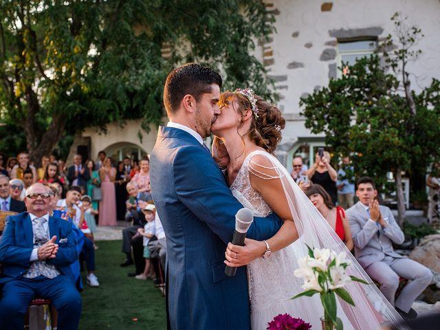 La boda de David y Silvia en Torrelodones, Madrid 60
