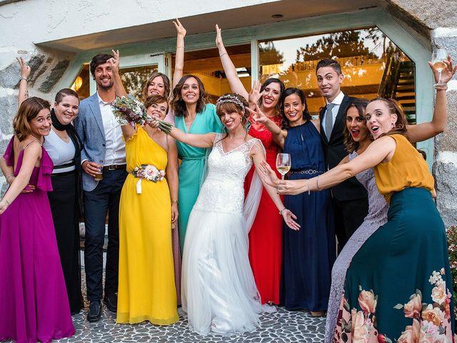 La boda de David y Silvia en Torrelodones, Madrid 81
