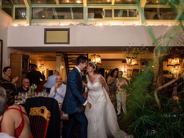 La boda de David y Silvia en Torrelodones, Madrid 98