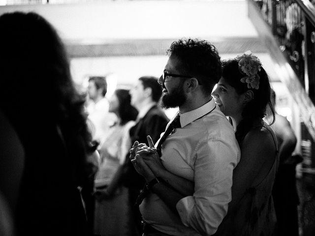 La boda de David y Silvia en Torrelodones, Madrid 109