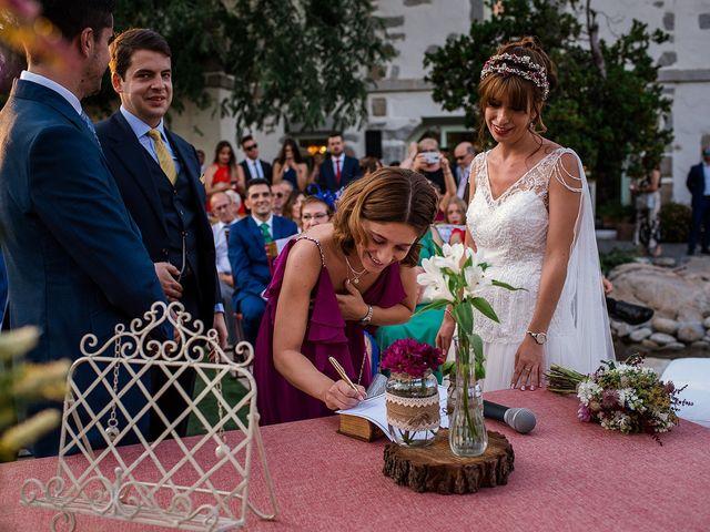 La boda de David y Silvia en Torrelodones, Madrid 62