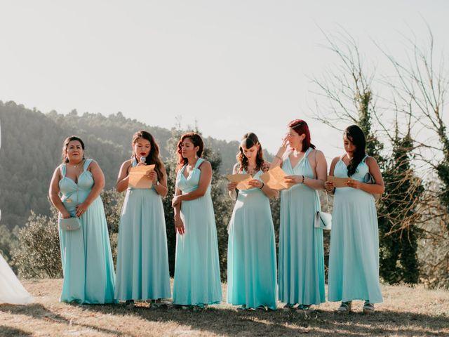La boda de Toni y Lisseth en El Pont De Vilumara I Rocafort, Barcelona 24