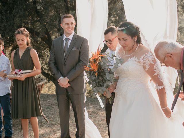 La boda de Toni y Lisseth en El Pont De Vilumara I Rocafort, Barcelona 28