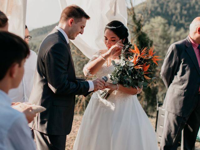 La boda de Toni y Lisseth en El Pont De Vilumara I Rocafort, Barcelona 32