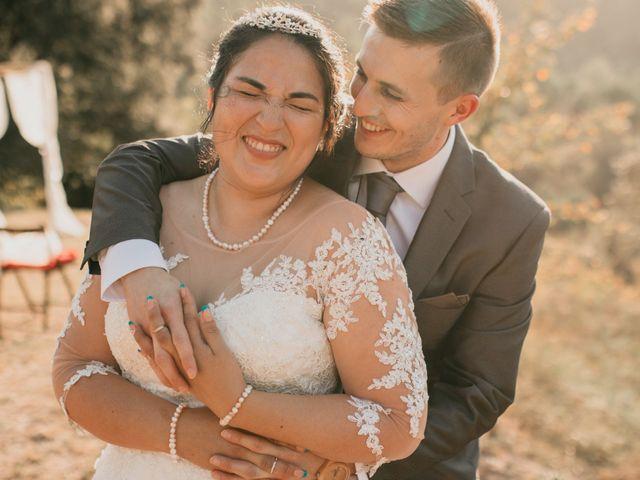 La boda de Lisseth y Toni