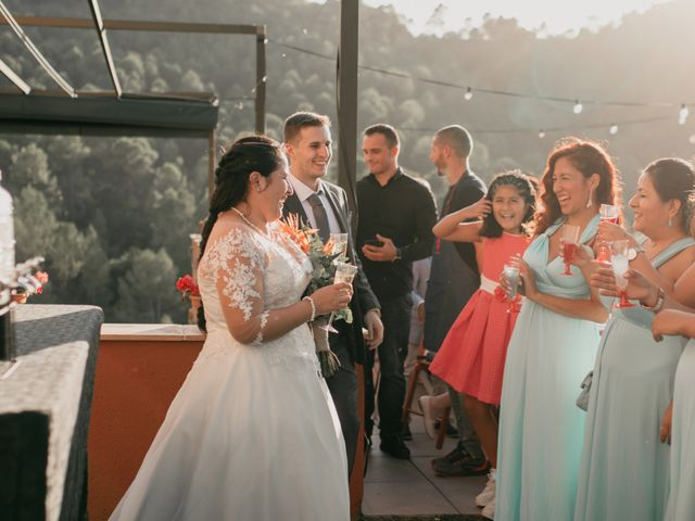La boda de Toni y Lisseth en El Pont De Vilumara I Rocafort, Barcelona 50