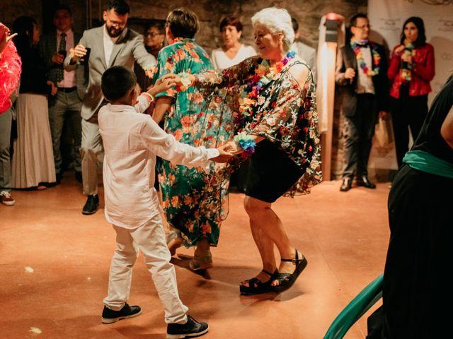 La boda de Toni y Lisseth en El Pont De Vilumara I Rocafort, Barcelona 73
