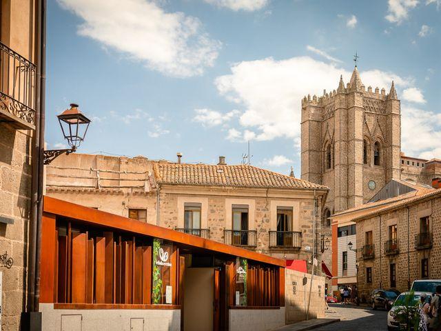 La boda de María y Geoff en Ávila, Ávila 3
