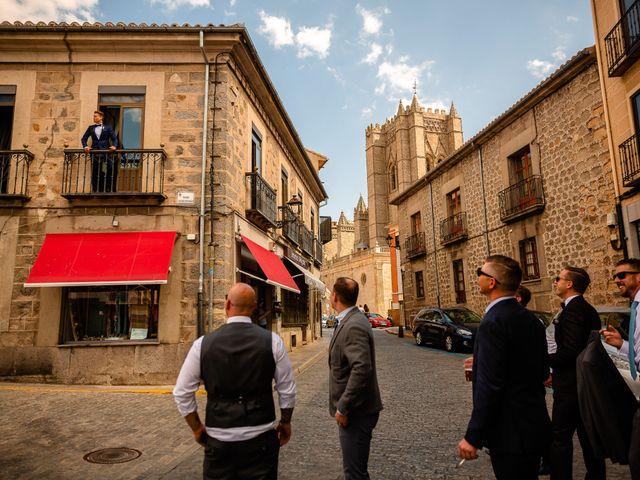 La boda de María y Geoff en Ávila, Ávila 8