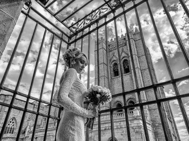 La boda de María y Geoff en Ávila, Ávila 25