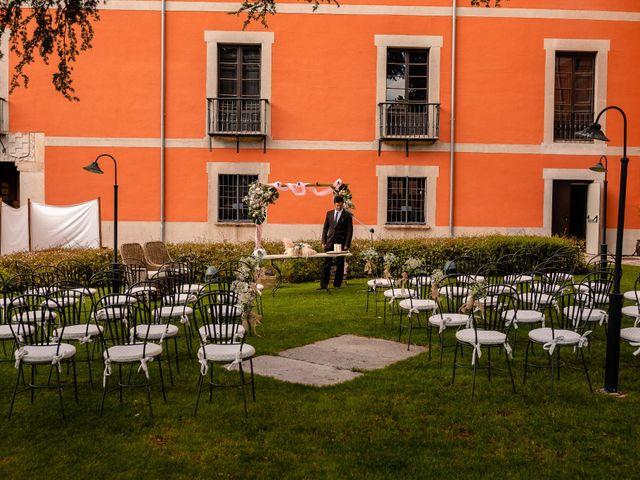 La boda de María y Geoff en Ávila, Ávila 28