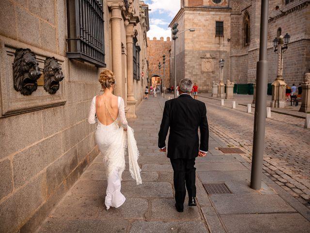 La boda de María y Geoff en Ávila, Ávila 29