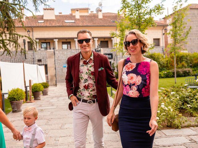 La boda de María y Geoff en Ávila, Ávila 31