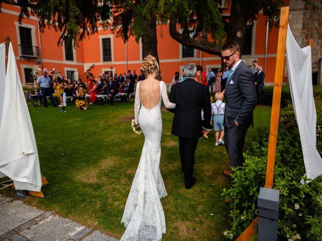 La boda de María y Geoff en Ávila, Ávila 33