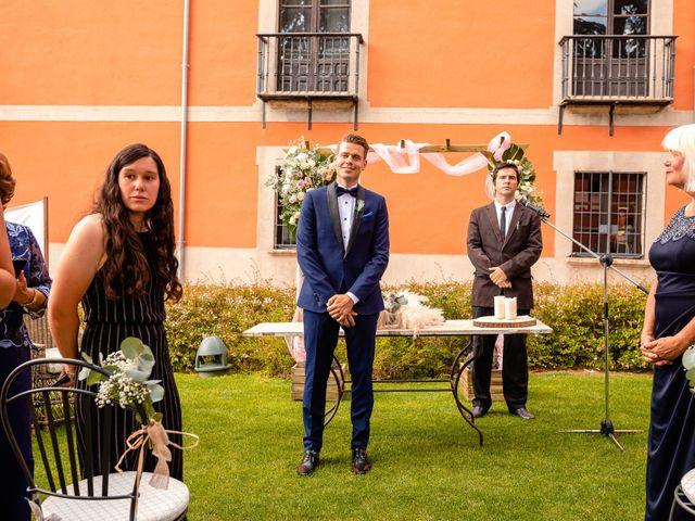 La boda de María y Geoff en Ávila, Ávila 35
