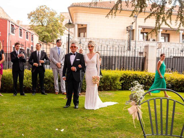 La boda de María y Geoff en Ávila, Ávila 36