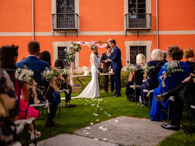 La boda de María y Geoff en Ávila, Ávila 37