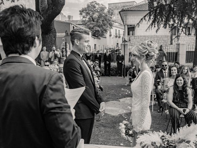 La boda de María y Geoff en Ávila, Ávila 38