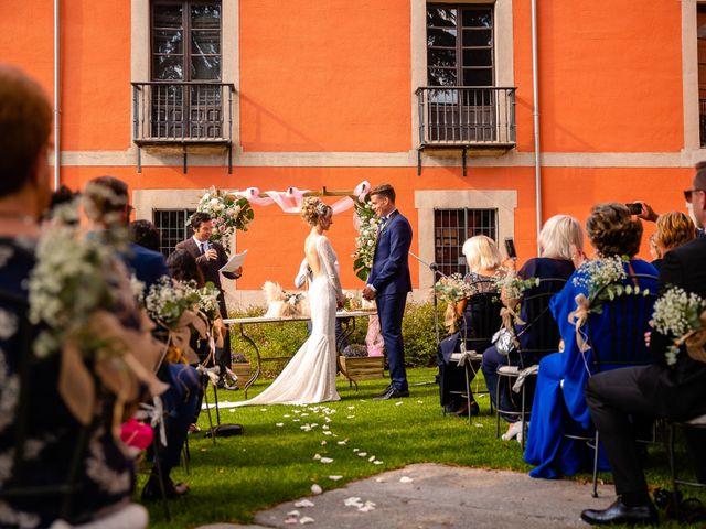 La boda de María y Geoff en Ávila, Ávila 45