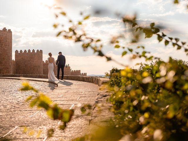 La boda de María y Geoff en Ávila, Ávila 49