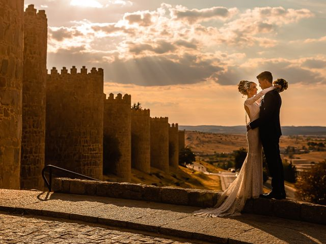 La boda de María y Geoff en Ávila, Ávila 50