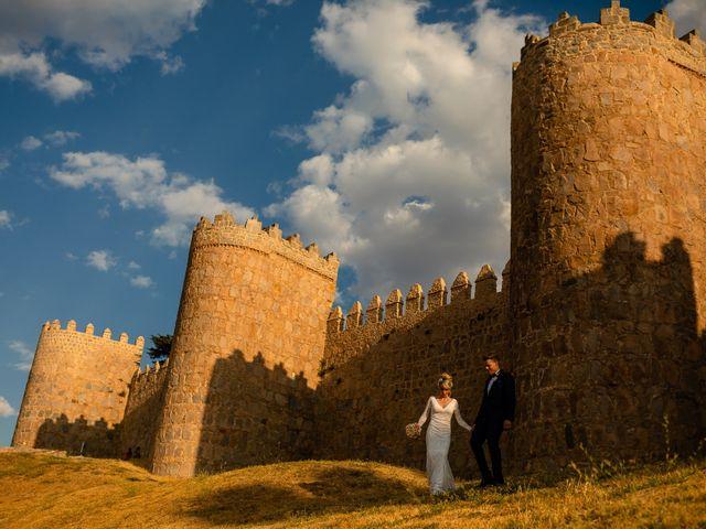 La boda de María y Geoff en Ávila, Ávila 51