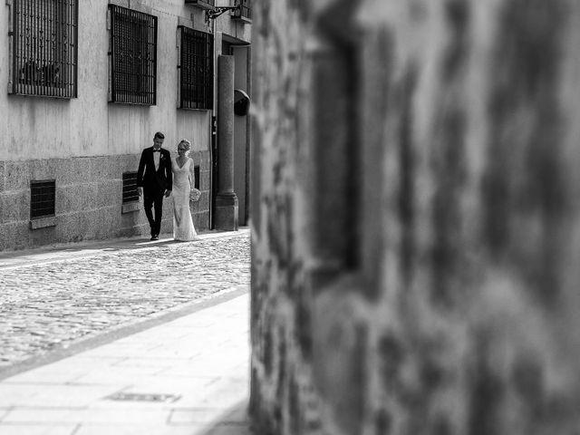 La boda de María y Geoff en Ávila, Ávila 53