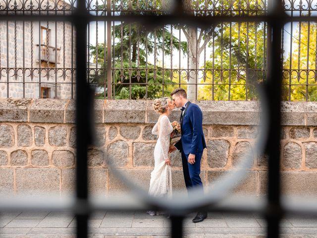 La boda de María y Geoff en Ávila, Ávila 54