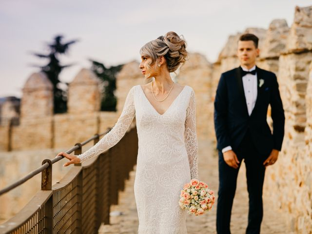 La boda de María y Geoff en Ávila, Ávila 1