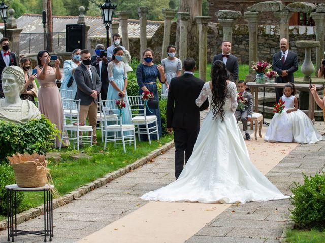 La boda de André y Elana en Vilaboa (Rutis), A Coruña 15