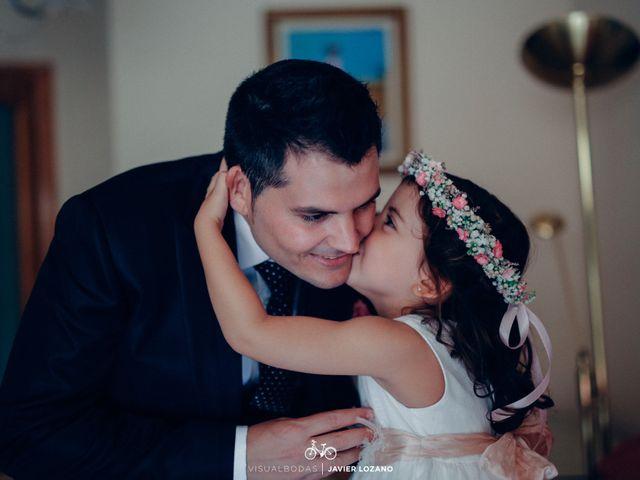 La boda de Javier y Davinia en Retamar, Almería 10