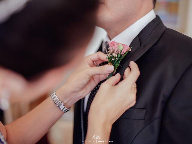 La boda de Javier y Davinia en Retamar, Almería 21