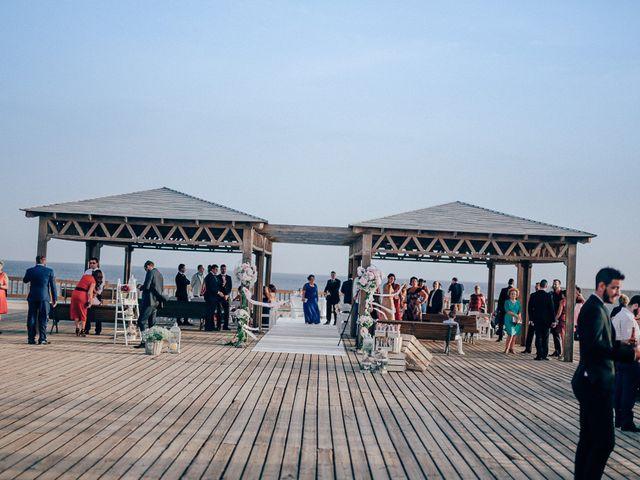 La boda de Javier y Davinia en Retamar, Almería 59