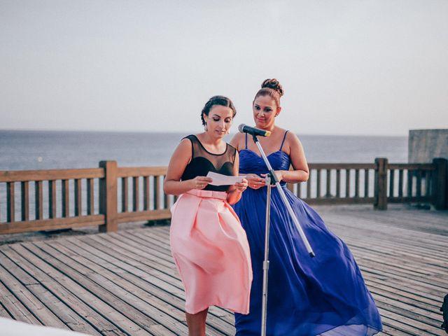 La boda de Javier y Davinia en Retamar, Almería 72