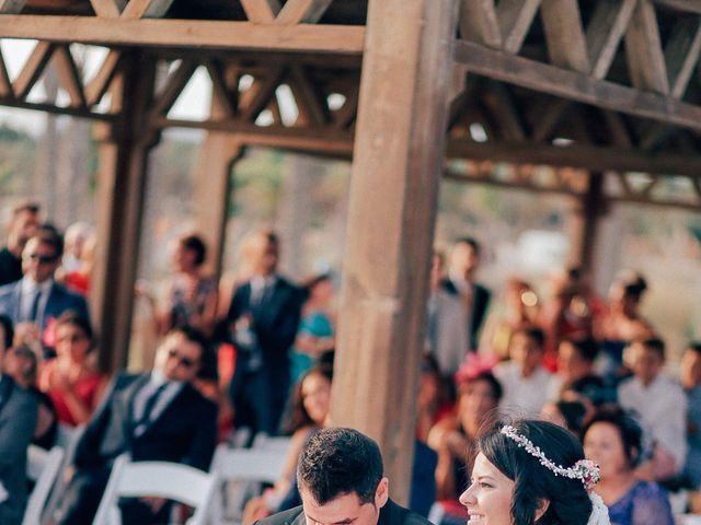 La boda de Javier y Davinia en Retamar, Almería 76