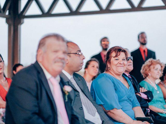 La boda de Javier y Davinia en Retamar, Almería 77