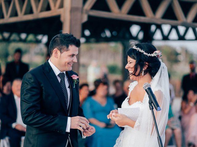 La boda de Javier y Davinia en Retamar, Almería 82