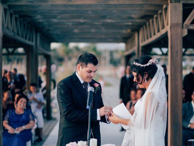 La boda de Javier y Davinia en Retamar, Almería 84