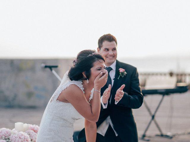 La boda de Javier y Davinia en Retamar, Almería 86