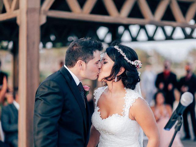 La boda de Javier y Davinia en Retamar, Almería 88