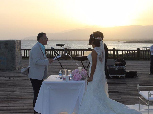 La boda de Javier y Davinia en Retamar, Almería 89