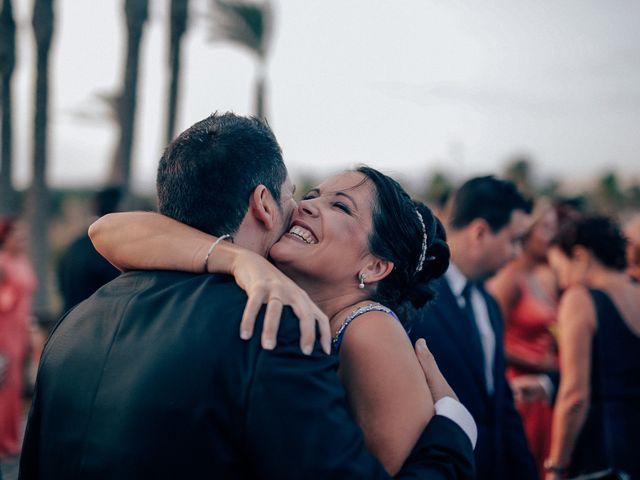 La boda de Javier y Davinia en Retamar, Almería 93