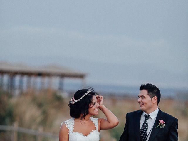 La boda de Javier y Davinia en Retamar, Almería 94