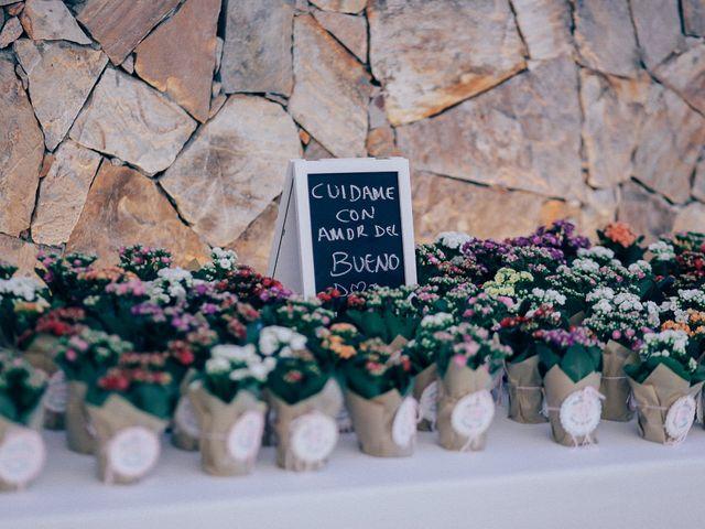 La boda de Javier y Davinia en Retamar, Almería 99