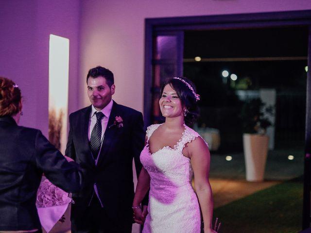 La boda de Javier y Davinia en Retamar, Almería 105